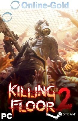 Killing Floor 2 Key KF2 Steam PC Spiel Game Digital Code [Multiplayer][DE/EU]