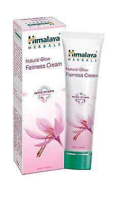 Natural Glow Fairness Face Cream -Himalaya Herbals Skin Whitening Lightening 25g
