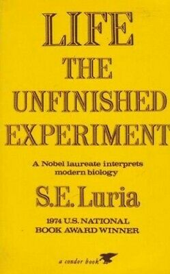 Life: The Unfinished Experiment (Condor Boo... by Luria, Salvador Edwa Paperback