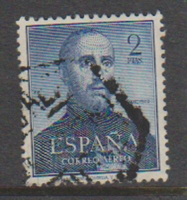 Spain - 1952, 2p St Francis Xavier stamp - Air - Used - SG 1178