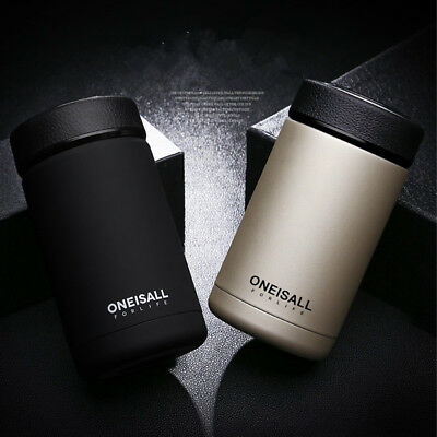 400ML Stainless Steel Vacuum Flask Water Bottle Thermos Travel Mug Coffee Cup