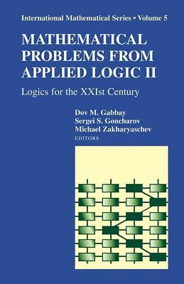 Mathematical Problems from Applied Logic II, Dov M. Gabbay