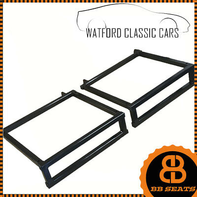 Pair of Fully Tailored Tilting Bucket Seat Sub Frame for Classic Mini's
