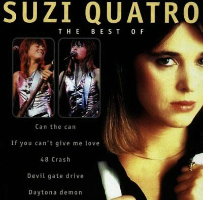 Quatro, Suzi - The Best Of Suzi Quatro - Quatro, Suzi CD Y3VG The Fast Free