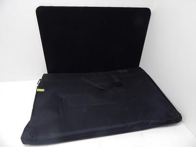 """Display Z Go Boo745M72S 72"""" By 36"""" 3 Panel Table Black744520B0856"""
