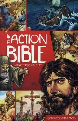 The Action Bible New Testament: God's Redemptive Story (Picture Bible) (Paperba.