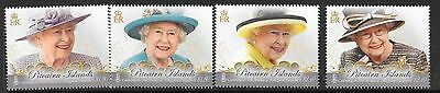 PITCAIRN ISLANDS 2016 QUEEN'S 90th BIRTHDAY MNH