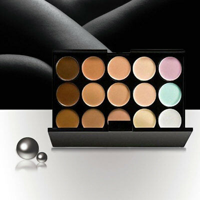 15 Colour Face Eyeshadow Palette Makeup Contour Concealer Eye Shadow Kit Gift