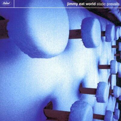 Jimmy Eat World - Static Prevails - Jimmy Eat World CD SVVG The Fast Free