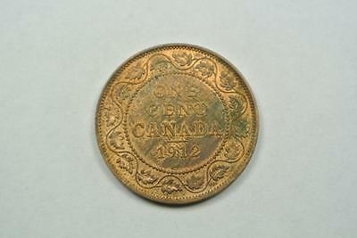 1912 Canada Large One, 1 Cent, UNC Condition - C4099