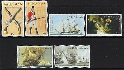 Bahamas Sg1380/5 2005 Battle Of Trafalgar Mnh