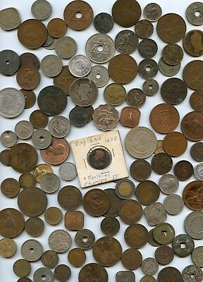 105 Pc. 1675-1900's Better World Coin Group Very Diverse!!!....starts @ 2.99