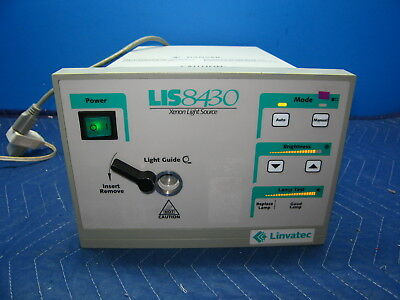 Conmed Linvatec LIS8430 Xenon Light Source Tested w/ 60 Day Warranty Endoscopy