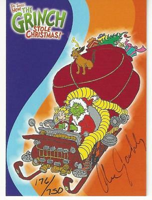 The Grinch Who Stole X-mas Promo Card P67 NEVER RELEASED Warehouse Find
