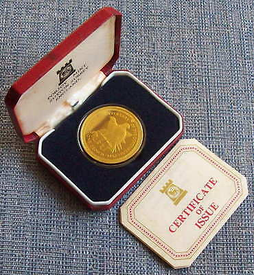 ISLE OF MAN, 1978, silver proof crown, cased with CoA