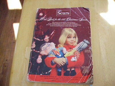 1971 sears wish book christmas xmas season