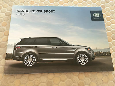 Land Rover Official Range Rover Sport Prestige Sales Brochure 2015 Usa Edition