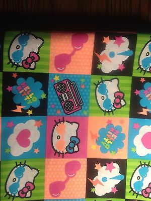 Rock N Roll Hello Kitty - Stethoscope Cover  - NEW - Handmade - FREE S&H
