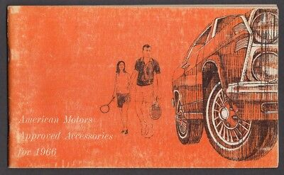 American Motors Approved Accessories catalog 1966