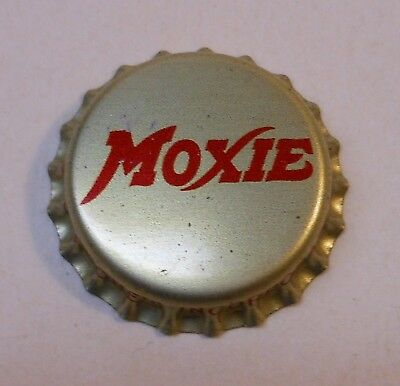 "Vintage Moxie ""Gold""..cork..unused..SODA BOTTLE CAP"