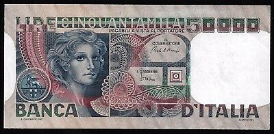 50.000 Lire From Italy 1980 MM11 Unc