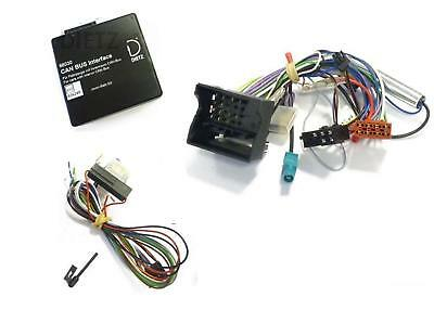 LFB Adapter Flach Pin Lenkrad Interface Can Bus BMW X3 X5 X6 E46 - JVC Radio