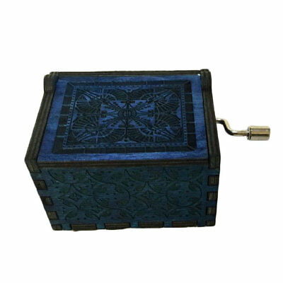 Harry Potter Game of Thrones Merry Christmas Theme Music Box Wooden Xmas Gift AU