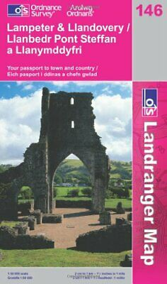 Lampeter and Llandovery (Landranger Maps... by Ordnance Survey Sheet map, folded