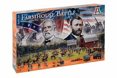 Italeri 6179 - 1/72 Farmhouse Battle - American Civil War 1864 - Battleset - Neu