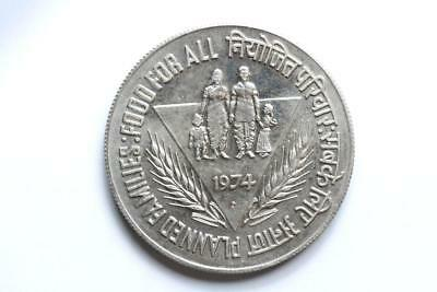 FAO / F.A.O. India 10 Rupees 1974  - uncirculated