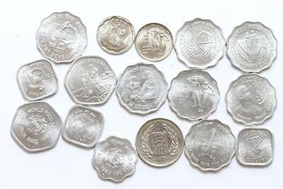 FAO / F.A.O. India - lot of 16 coins - uncirculated