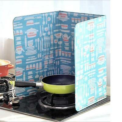 Kitchen Gas Stove Cooker Deflector Plate Insulation Board Sheet Cooking Aluminum