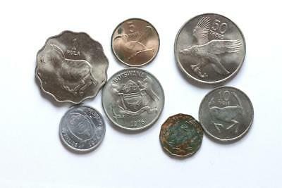 FAO / F.A.O.  Botswana  - lot of 7 coins - uncirculated