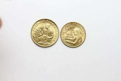 FAO / F.A.O.  Cape Verde - lot of 2 coins - uncirculated