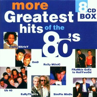 Various Artists - More Greatest Hits of the 80's - Various Artists CD CYVG The
