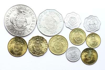 FAO / F.A.O. - Seychelles - lot of 11 coins - uncirculated