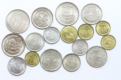FAO / F.A.O. -  Nepal - lot of 17 coins - uncirculated