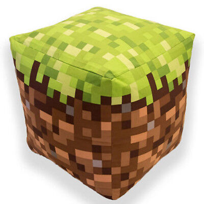 Official Minecraft Bean Cube Bean Bag Filled Chair Seat Bedroom Play TV Room