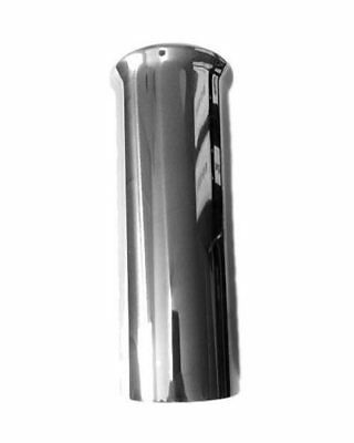 """6"""" Stainless Steel Round Push On Exhaust Tip Trim End Tail Pipe Back Box Car"""