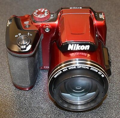 Nikon Coolpix B500 16MP Digital Camera - Red