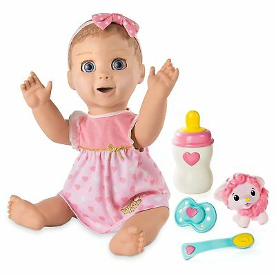 NEW Spin Master Luvabella Interactive Blonde Hair Doll Toy