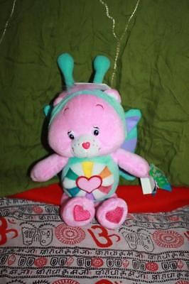 Care Bears Limited Edition Hopeful Heart Bear Natural Wonders NWT 8""