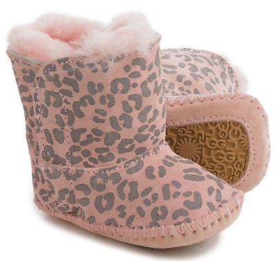 New Ugg Australia Cassie Pink Booties Ankle Boots Baby Girls Size 2-3 Infants