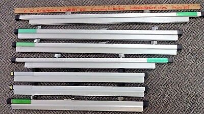 "LOT of 5- SAFCO Plan Holders 30"" Blue Print / Document / Map / Hanging Clamps"
