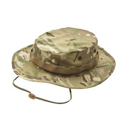 Tru-Spec 3372 Poly-Cotton Rip-Stop Boonie Hat, Bucket Hat, MultiCam