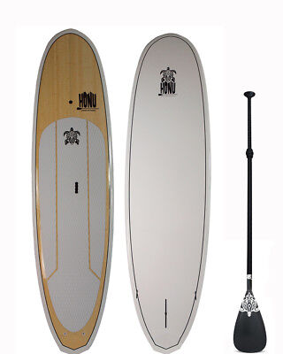 Stand up Paddle - SUP board 9'8  + Grip + Paddle : Bamboo