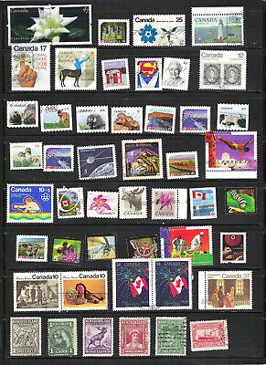 Canada  Used Stamps lot 1