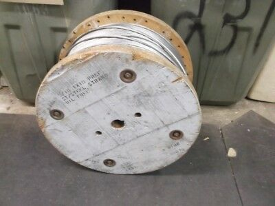 """350' Spool of 1x19 Stranded Stainless Steel Cable 5/16"""""""
