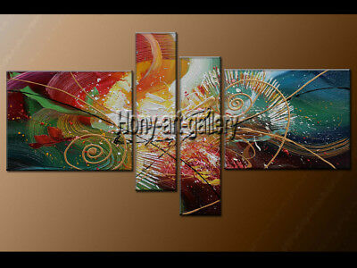 Large MODERN ABSTRACT OIL PAINTING On Canvas Contemporary Wall Art Decor FY3602