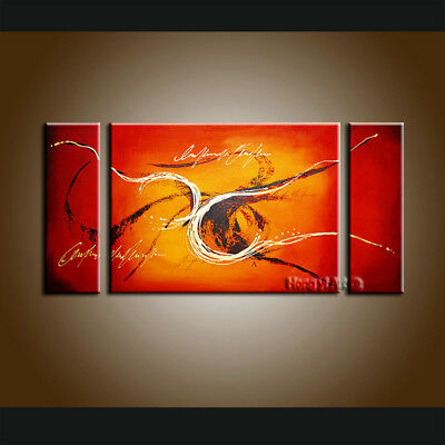 Large MODERN ABSTRACT OIL PAINTING On Canvas Contemporary Wall Art Decor FT1005